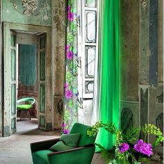 Yeşil ve pembenin harika uyumu #pembe #yeşil #pink #green #dizayn #design #mobilya #italya #furniture #tasarım #interior #architecture #içmimar #home #ev #country #vintage #renk #color #englishhome #madamecoco #homesweethome #colorful #insta #samsung #facebook #designer by fiyonkbuket