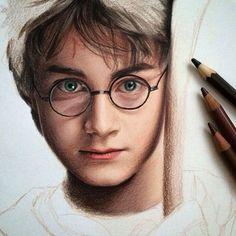 Harry Potter Sketch, Arte Do Harry Potter, Harry Potter Artwork, Harry Potter Drawings, Harry Potter Pictures, Harry Potter Wallpaper, Harry Potter Fandom, Harry Potter Characters, Harry Potter World
