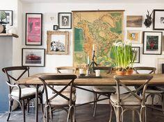 Salle à manger vintage / Vintage dining room