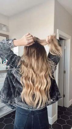 Hair Up Styles, Medium Hair Styles, Hair Extension Styles, Everyday Hairstyles, Cute Hairstyles, Hair Videos, Hair Looks, Hair Inspiration, Hair Cuts
