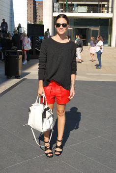 Maria Duenas. Fashion Week 9.12.12
