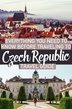 The Czech Republic is one of the most incredible countries to visit in Central Europe full of plenty of destinations outside one of Europe's most popular visite Europe Travel Guide, Backpacking Europe, Travel Guides, Travel Destinations, Holiday Destinations, European Destination, European Travel, Euro Travel, Italy Travel