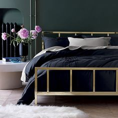 woke up like this. click link in bio to save 15% off our dreamiest beds, chests and dressers. ends tomorrow, july 30.  #bedroomgoals #bedroomdesign #bedroom #bed #cozy #interiordesign #interior4all #cb2fall #cb2 #sale