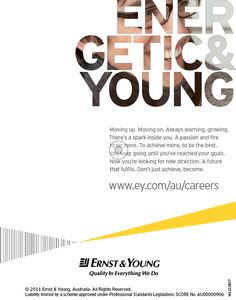 Ernst & Young by David Lawson, via Behance