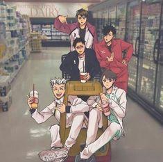 Read Captain Squad from the story Haikyuu Photo Collection by (KaiToshiki) with 444 reads. Manga Haikyuu, Haikyuu Karasuno, Haikyuu Funny, Haikyuu Fanart, Manga Anime, Kuroo, Oikawa, Kagehina, Haikyuu Ships