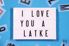 A wholeee latke 😍