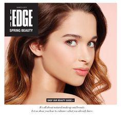 Shop our beauty guide: The EDGE spring beauty