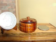 Dollhouse Miniature 1:12 Cookware & Tableware Canister Handcrafted OOAK #K5 #HandcraftedMiniaturesbyOppi