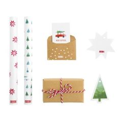 MINI WRAPPING KIT: CHRISTMAS