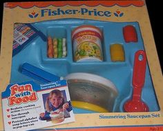 Fisher-Price Fun With Food Simmering Saucepan Set (#2111)