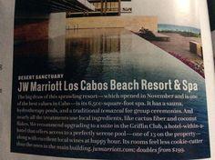Los Cabos, Mexico This place has a big spa