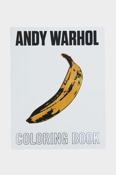 Mudpuppy's Andy Warhol Coloring Book features the iconic pop artist's greatest hits ready to be colored in and customized by young artists. Introduce well-known classics like Andy's Campbell's Soup Ca