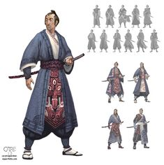 The Wandering Warrior by M0AI.deviantart.com on @deviantART