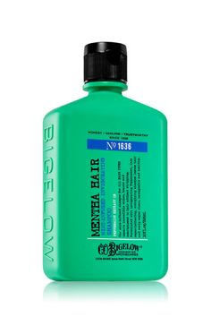 C.O. Bigelow Mentha Hair Mint-Infused Invigorating Shampoo, $12, available at Bath & Body Works.