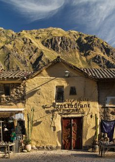 Travel Inspiration for Peru -  beautiful Ollantaytambo, Cusco, Peru.