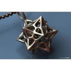 Small Stellated Dodecahedron Pendant