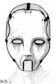 draw scary faces - Google Search