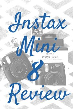 there's an instax mini 8 camera review up on my blog! The pros, the cons, and everything in between! If you're looking for a instant camera give my review a read!