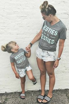 Mother daughter twinning Related posts:Mother And Son Matching Outfits Mommy And Me Clothing Mom And Baby Outfits, Mommy And Me Outfits, Cute Outfits, Baby Dresses, Mommy And Me Shirt, Mother Daughter Outfits, Mom Daughter, Mother Daughters, Mother Daughter Crafts