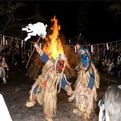 Oga Namahage Festival, Oga City, Akita Prefecture #Japanfestivals #festivals