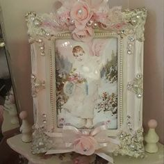 Good delivered Shabby Chic home decor Add to your Shabby Chic Interiors, Shabby Chic Crafts, Shabby Chic Bedrooms, Shabby Chic Kitchen, Shabby Chic Cottage, Shabby Chic Homes, Shabby Chic Furniture, Distressed Furniture, Shabby Chic Pink