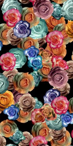 NATURAL COLLAGE_Flower Design_Digital Print_1 | Blisse Design Studio