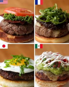 Burgers Around The World