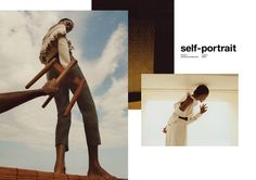 Karly Loyce by Jalan & Jibril Durimel for Self-Portrait FW 17.18 Campaign