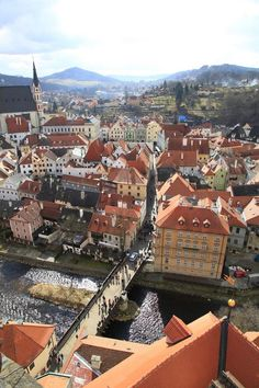 **Historic Center of Cesky Krumlov - Czech Republic