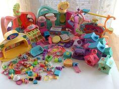 Littlest Pet Shop play set accessory lot