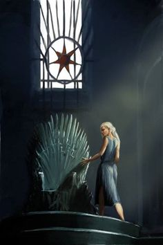 Iron throne by yinetyang