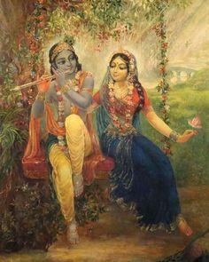 Krishna Lila, Jai Shree Krishna, Cute Krishna, Radha Krishna Love, Radha Rani, Lord Krishna Images, Radha Krishna Pictures, Krishna Photos, Raja Ravi Varma