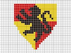 Cross-Stitch Your Hogwarts House Badge