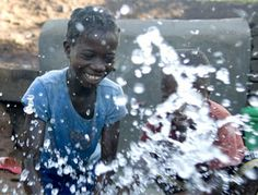 Dirty water and poor sanitation cause around of all child deaths in Mozambique where extreme poverty remains widespread.