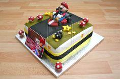 Mario Kart Cake by elainewhy.deviantart.com on @deviantART