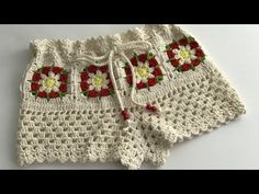 Sublime Crochet for Absolute Beginners Ideas. Capital Crochet for Absolute Beginners Ideas. Crochet Towel, Crochet Baby, Knit Crochet, Crochet Shorts Pattern, Crochet Patterns, Crochet Ideas, Bikinis Crochet, Baby Bikini, Crochet For Beginners