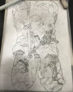Working on upcoming piece . Singapore Tattoo, Singapore Art, Asian Tattoos, Back Tattoos, Japanese Tattoo Art, Japanese Art, Tattoo Time Lapse, Foo Dog Tattoo, Japan Tattoo