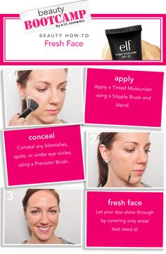 how to: FRESH FACE