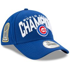 Chicago Cubs 2016 World Series Champions 9FORTY Adjustable Hat  #ChicagoCubs #Cubs #FlyTheW #MLB #ThatsCub