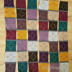 #victorianlatticesquare #autumnjewels #thepatchworkheart #grannysquare #crochetaddict #crochet #crochetblanket #häkeln #häkeldecke #instacrochet #yarnaddict #deramoresstudiodk #craft #hobby by knittingdance