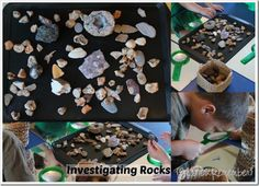 Investigating Rocks in Preschool (from Share & Remember)