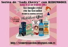 """Cosmética en acción: ¡SORTEO – un lote de productos """"Lady Cherry"""" de REDUMODEL!"""