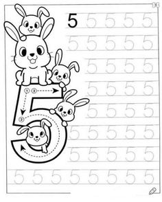 English Worksheets For Kids, Kids Math Worksheets, Preschool Activities, Numbers Preschool, Free Preschool, Childhood Education, Kids Education, Kindergarten Coloring Pages, Kindergarten Readiness