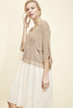 loose knit top