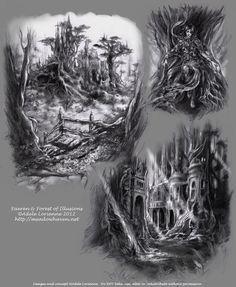 A Forests Secrets by Saimain.deviantart.com on @deviantART