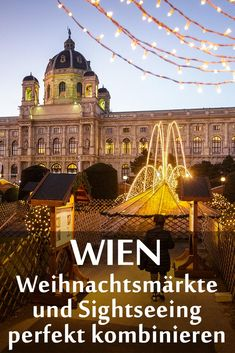 Austria, Christmas Markets Europe, Oh The Places You'll Go, Vienna, Road Trip, Louvre, Adventure, Mansions, House Styles