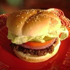 Fun and different burger for those burger lovers with a huge appetite.