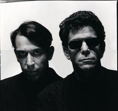 Laura Levine   John Cale and Lou Reed   1989