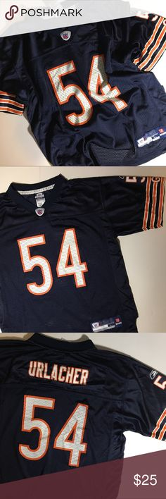 0e1814df8 Chicago Bears NFL Urlacher Youth Football Jersey Chicago Bears NFL  54  Urlacher Youth Football Jersey