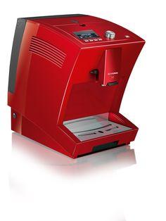 Cafetera Totalmente Automática »S2 One Touch« 8009 Color / Material rojo metalizado  Potencia presión máx. 15 bar  Capacidad / Contenido volumen del depósito de agua: 1,5 l  Nº EAN 4008146800900  Capuchino, Latte Macchiato, Café con Leche, Café Espresso, Leche Sóla y Café con la pulsación de un solo botón sin  mover la taza  unidad de elaboración de café extraíble, patentada (volumen 6 - 10 g)  Más información pinchando la fotografía